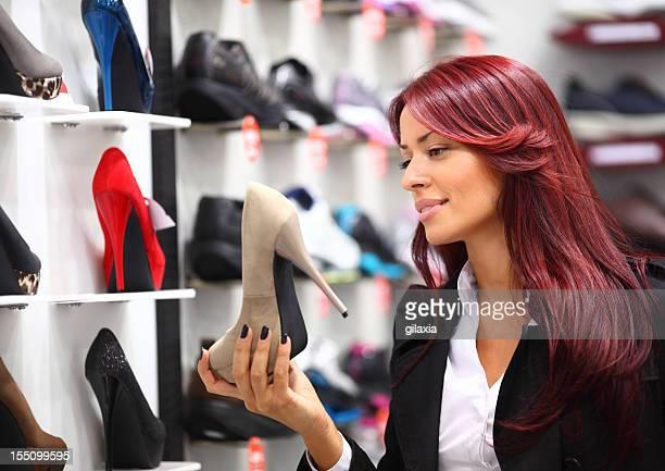 Shoes shopping.