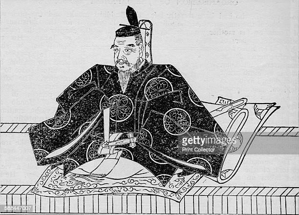 Shogun Tokugawa Ieyasu the greatest ruler of Japan in peace and war 1907 From Harmsworth History of the World Volume 1 by Arthur Mee JA Hammerton AD...