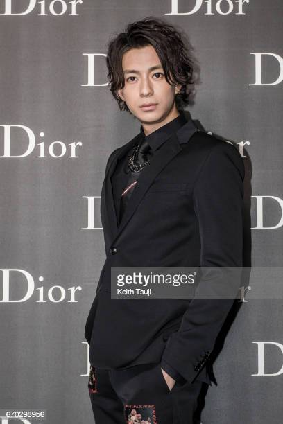 Shohei Miura attends the Dior Homme 2017 Fall Presentation at Differ Ariake on April 19 2017 in Tokyo Japan