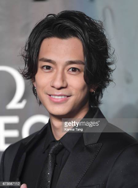 Shohei Miura attends the Lost In Space event to celebrate the 60th anniversary of the OMEGA Speedmaster at the Tate Modern on April 26 2017 in London...