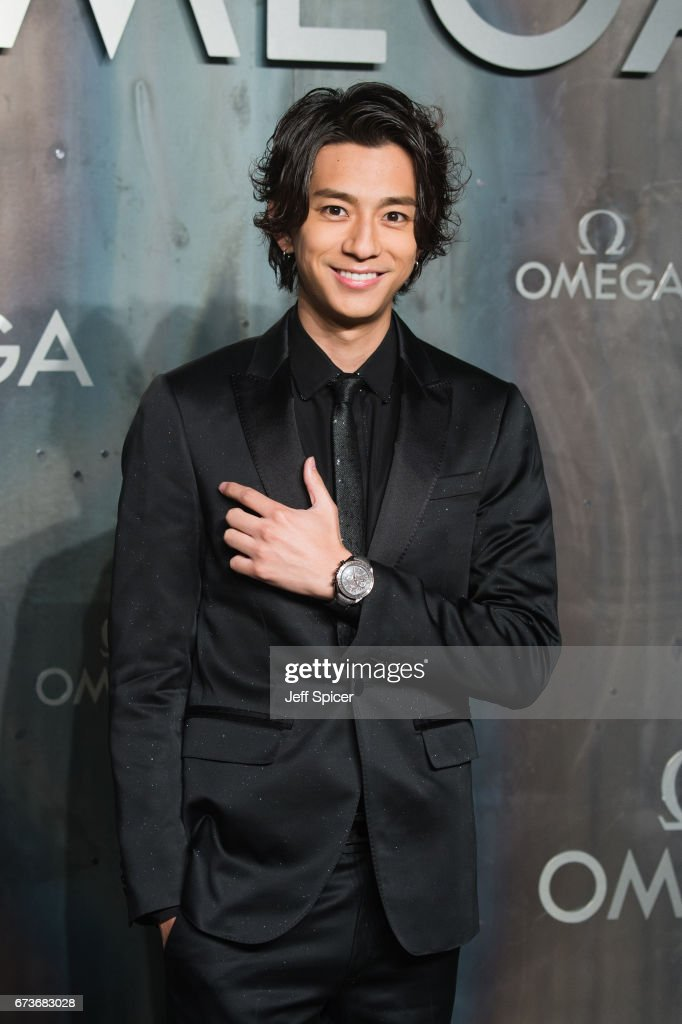 Shohei Miura attends the Lost In Space event to celebrate the 60th anniversary of the OMEGA Speedmaster, which has been worn by every piloted NASA mission since 1965 at Tate Modern on April 26, 2017 in London, United Kingdom.