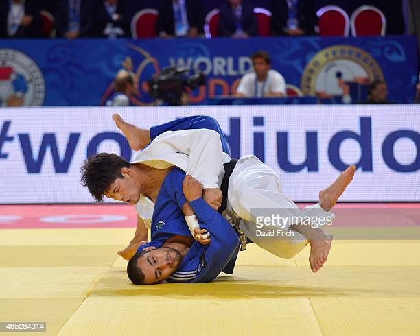 Shohei Ono of Japan defeated Jorge Fernandes of Portugal with this throw for an ippon as he progressed to the final and his second World gold medal...