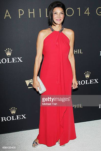 Shohreh Aghdashloo arrives at The Los Angeles Philharmonic opening night concert and gala held at Walt Disney Concert Hall on September 30 2014 in...