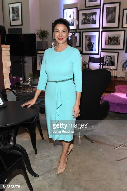 Shohreh Aghdashloo attends NKPR IT House x Producers Ball With Nylon Magazine and Coveteur Portrait Studios Day 5 on September 11 2017 in Toronto...