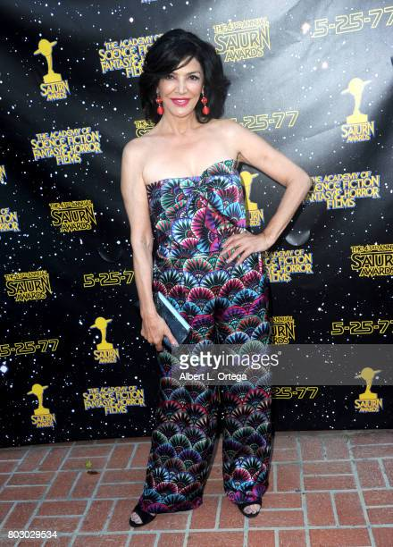 Shohreh Aghdashloo attends the 43rd Annual Saturn Awards at The Castaway on June 28 2017 in Burbank California