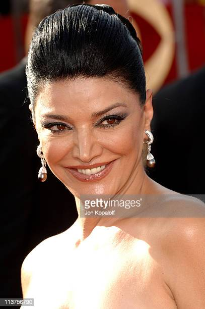 Shohreh Aghdashloo during 57th Annual Primetime Emmy Awards Arrivals at The Shrine in Los Angeles California United States
