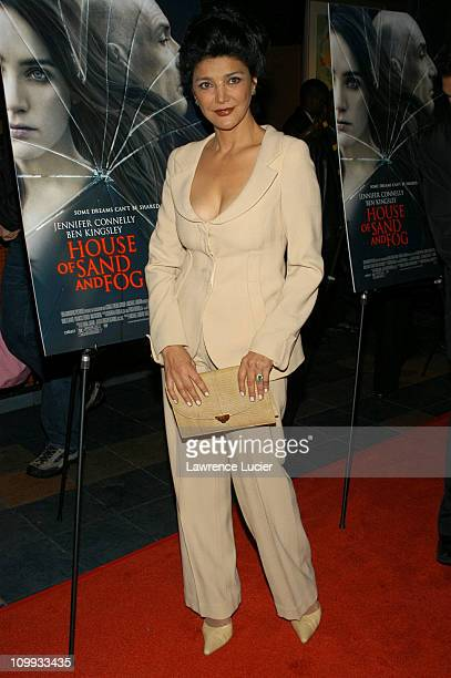 Shohreh Aghdashloo during House Of Sand And Fog New York Premiere at Chelsea West Theatre in New York City New York United States