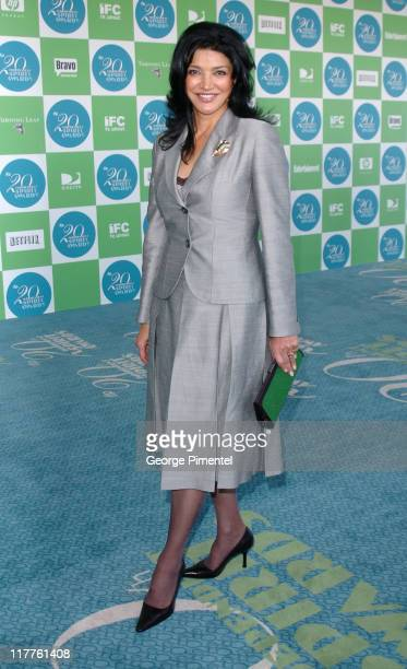 Shohreh Aghdashloo during The 20th Annual IFP Independent Spirit Awards Bravo on the Red Carpet in Santa Monica California United States