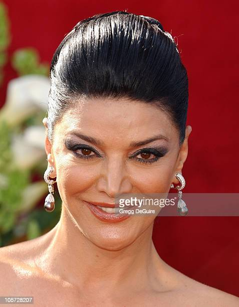 Shohreh Aghdashloo during The 57th Annual Emmy Awards Arrivals at Shrine Auditorium in Los Angeles California United States