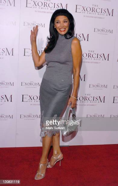 Shohreh Aghdashloo during 'The Exorcism of Emily Rose' Los Angeles Premiere Arrivals in Los Angeles California United States