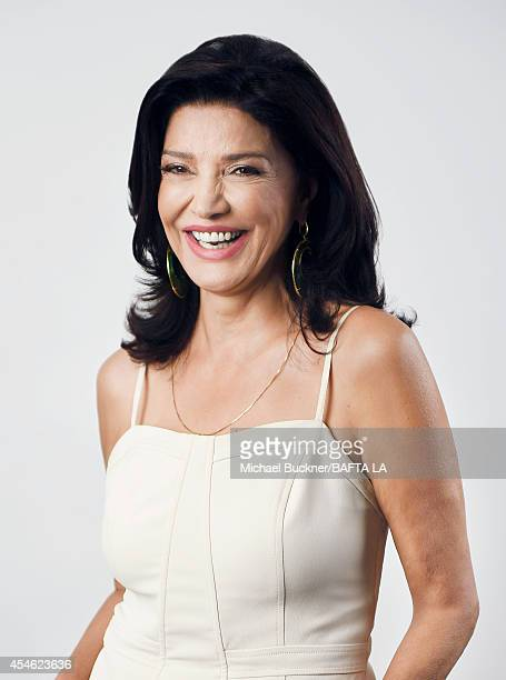Shohreh Aghdashloo poses for a portrait at the BAFTA luncheon on August 23 2014 in Los Angeles California