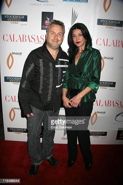 Shohreh Aghdashloo with Richard Bleiweiss Publisher
