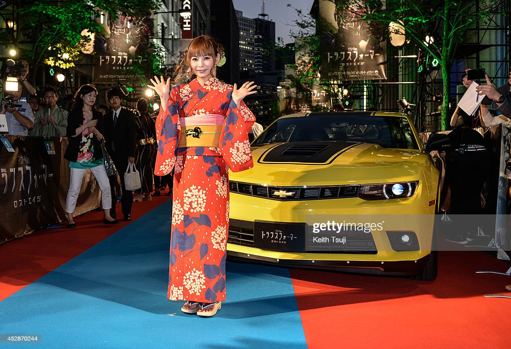 <a gi-track='captionPersonalityLinkClicked' href=/galleries/search?phrase=Shoko+Nakagawa&family=editorial&specificpeople=5514581 ng-click='$event.stopPropagation()'>Shoko Nakagawa</a> attends the Japan premiere of 'Transformers : Age Of Extinction' at the Toho Cinemas Nihonbashi on July 28, 2014 in Tokyo, Japan.