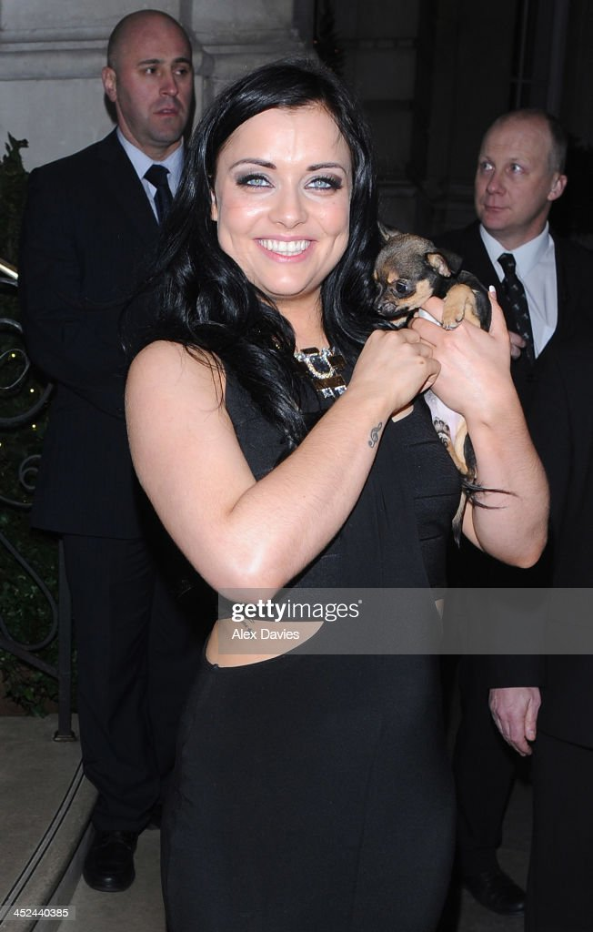 Shola Mcgarty sighting on November 28, 2013 in London, England.