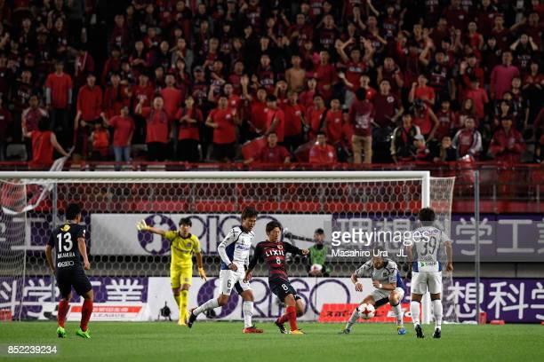 Shoma Doi of Kashima Antlers control the ball during the JLeague J1 match between Kashima Antlers and Gamba Osaka at Kashima Soccer Stadium on...