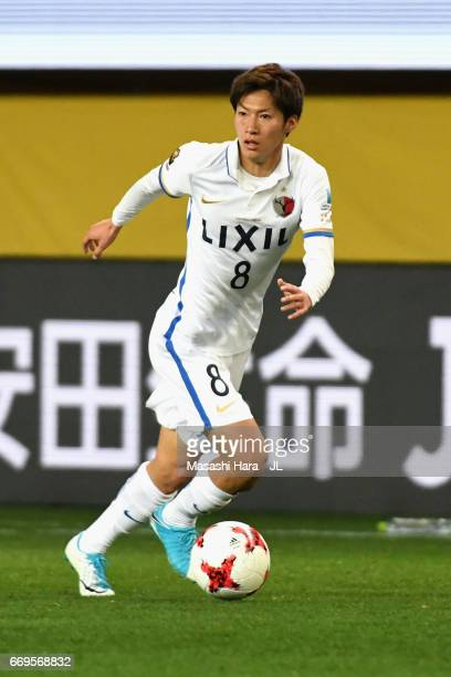 Shoma Doi of Kashima Antlers in action during the JLeague J1 match between Vegalta Sendai and Kashima Antlers at Yurtec Stadium Sendai on April 16...