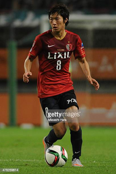 Shoma Doi of Kashima Antlers in action during the JLeague match between Kashima Antlers and Matsumoto Yamaga at Kashima Soccer Stadium on May 30 2015...