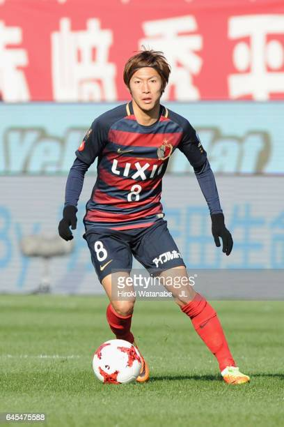 Shoma Doi of Kashima Antlers of Kashima Antlers in action during the JLeague J1 match between Kashima Antlers and FC Tokyo at Kashima Soccer Stadium...