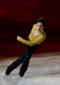 Shoma Uno of Japan performs his routine in the Gala exhibition during All Japan Figure Skating Championships at Saitama Super Arena on December 24...