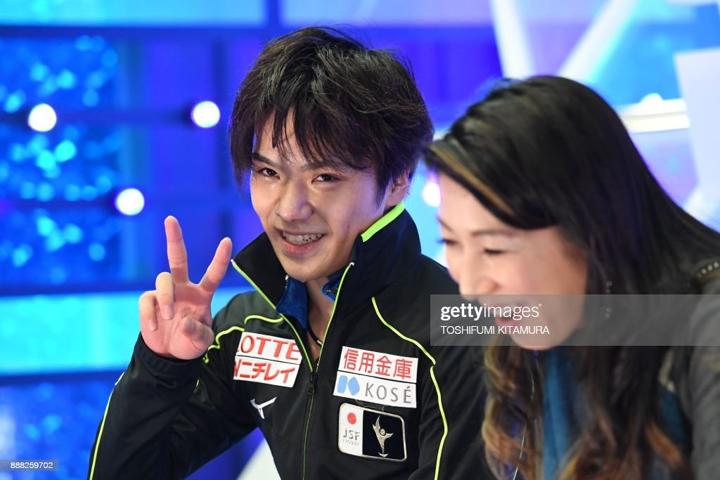 Шома Уно / Shoma UNO JPN - Страница 11 Shoma-uno-of-japan-reacts-after-competing-in-the-mens-free-skating-picture-id888259702