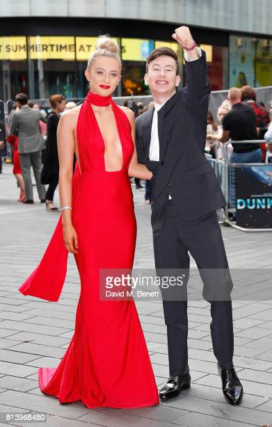 Shona Guerin and Barry Keoghan attend the World Premiere of 'Dunkirk' at Odeon Leicester Square on July 13 2017 in London England