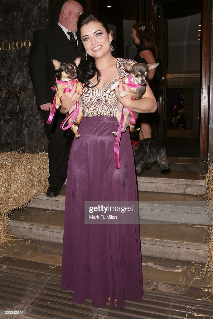 Shona McGarty attending the Daily Mirror and RSPCA Animal Hero Awards on September 7, 2016 in London, England.