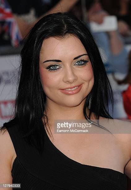 Shona McGarty attends Pride of Britain Awards at Grosvenor House on October 3 2011 in London England