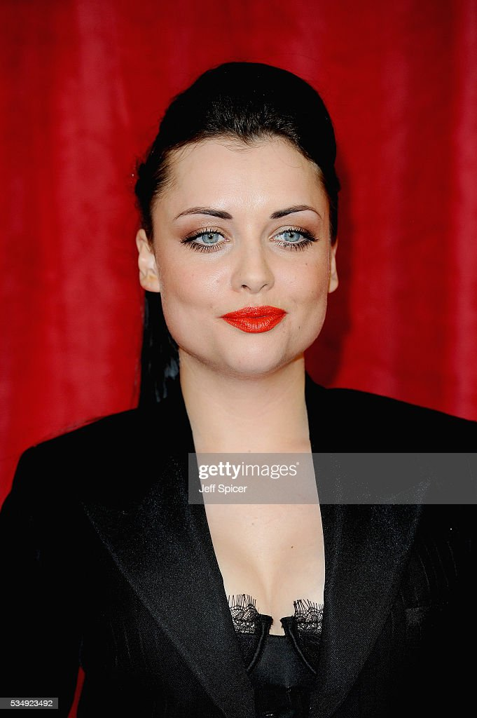 <a gi-track='captionPersonalityLinkClicked' href=/galleries/search?phrase=Shona+McGarty&family=editorial&specificpeople=5314143 ng-click='$event.stopPropagation()'>Shona McGarty</a> attends the British Soap Awards 2016 at Hackney Empire on May 28, 2016 in London, England.