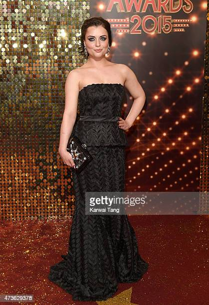 Shona McGarty attends the British Soap Awards at Manchester Palace Theatre on May 16 2015 in Manchester England
