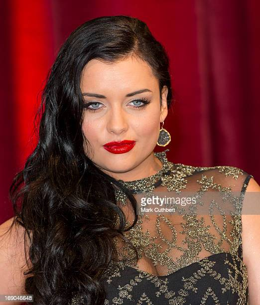 Shona McGarty attends the British Soap Awards at Media City on May 18 2013 in Manchester England