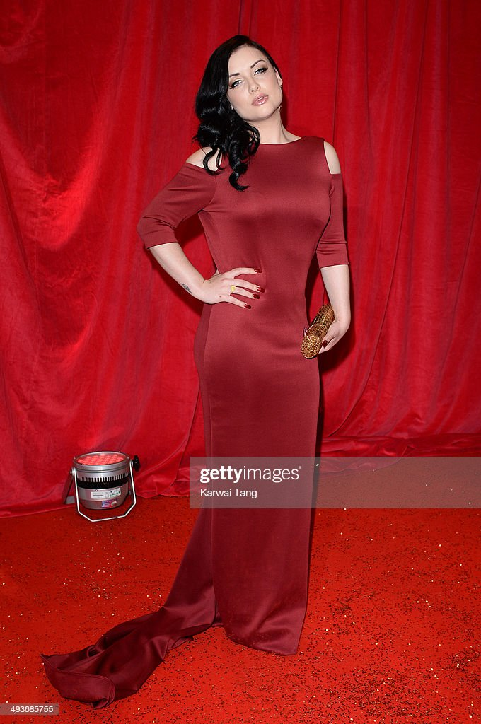 Shona McGarty attends the British Soap Awards held at the Hackney Empire on May 24, 2014 in London, England.