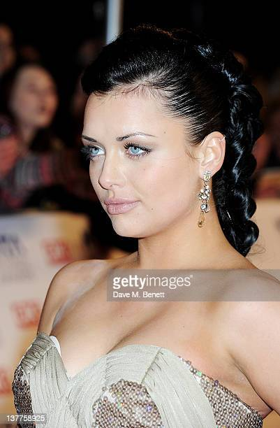 Shona McGarty attends the National Television Awards 2012 at the O2 Arena on January 25 2012 in London England