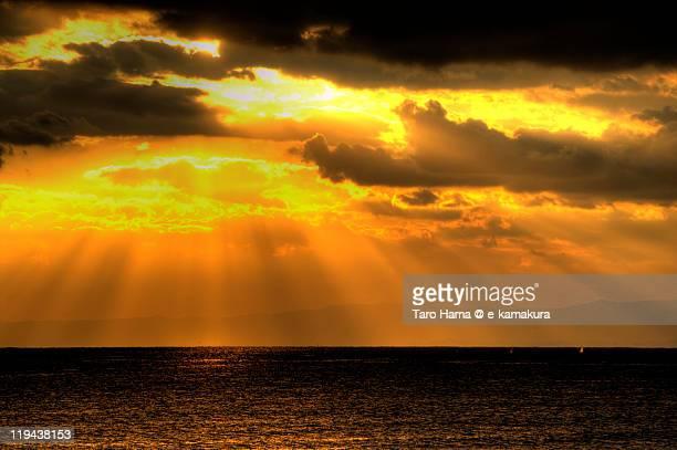 Shonan angel sunset