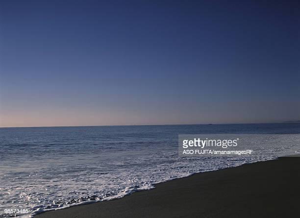 Shonan seashore. Odawara, Sakou, Kanagawa Prefecture, Japan