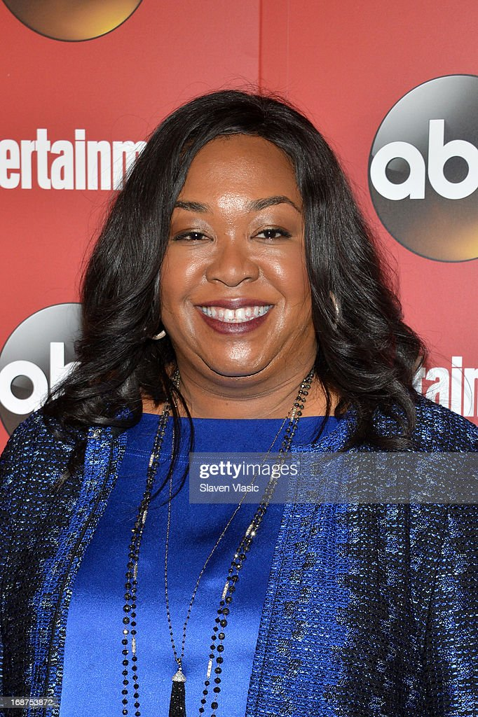 <a gi-track='captionPersonalityLinkClicked' href=/galleries/search?phrase=Shonda+Rhimes&family=editorial&specificpeople=572007 ng-click='$event.stopPropagation()'>Shonda Rhimes</a> attends the Entertainment Weekly & ABC-TV Upfronts Party at The General on May 14, 2013 in New York City.