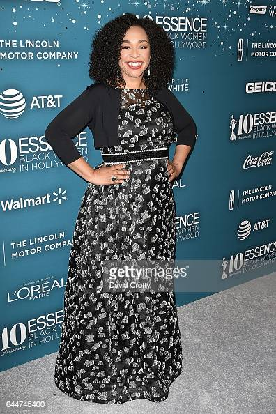 Shonda Rhimes attends the Essence 10th Annual Black Women In Hollywood Awards Gala at the Beverly Wilshire Four Seasons Hotel on February 23 2017 in...