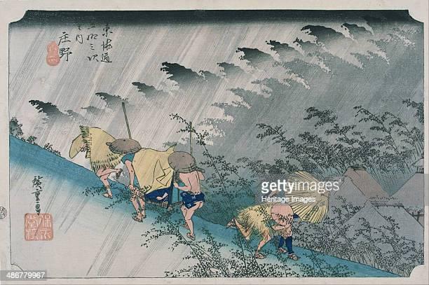 Shono 18331834 Artist Hiroshige Utagawa