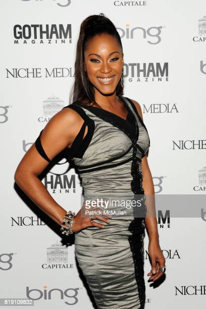 Shontelle attends ALICIA KEYS Hosts GOTHAM MAGAZINES Annual Gala Presented by BING at Capitale on March 15 2010 in New York City
