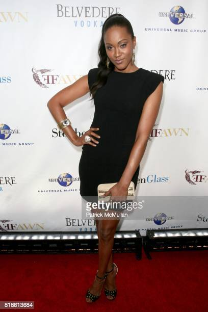 Shontelle attends FFAWN Presents an Evening Celebrating 'MARY J BLIGE HONORS WOMEN WEEK' at Cipriani on June 17 2010 in New York City