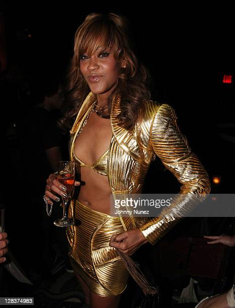 Shontelle attends her birthday celebration at BB King Blues Club Grill on October 6 2011 in New York City