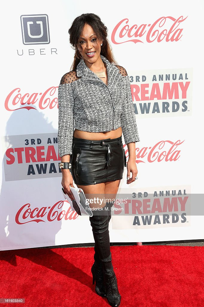 Shontelle attends the 3rd Annual Streamy Awards at Hollywood Palladium on February 17, 2013 in Hollywood, California.