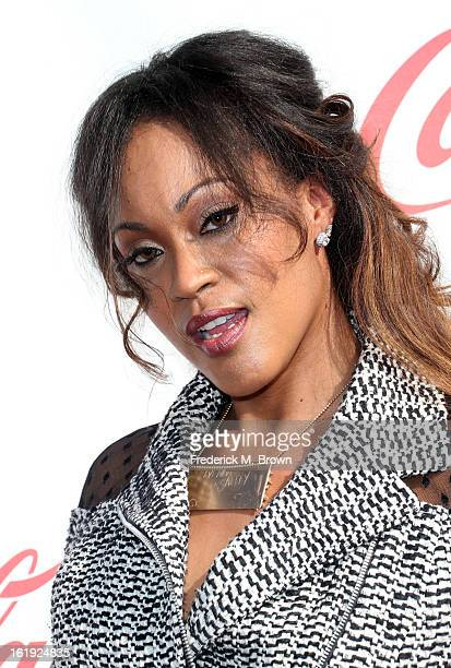 Shontelle attends the 3rd Annual Streamy Awards at Hollywood Palladium on February 17 2013 in Hollywood California