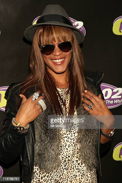 Shontelle visits the Q102 Xfinity Performance Theater May 5 2011 in Bala Cynwyd Pennsylvania