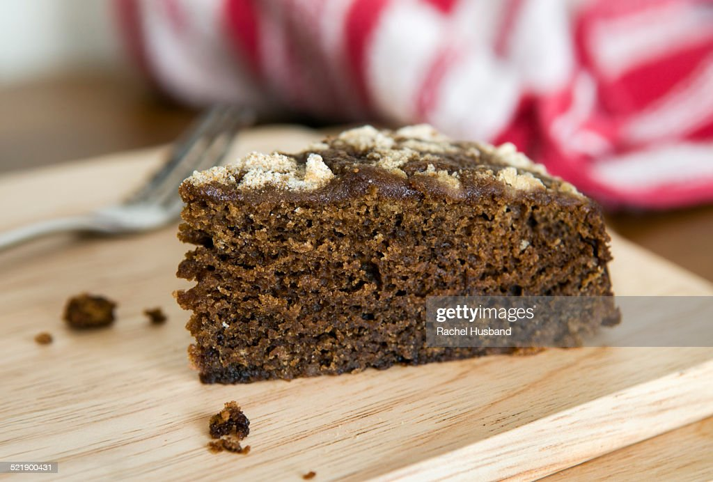 Shoofly cake, made with black treacle or molasses