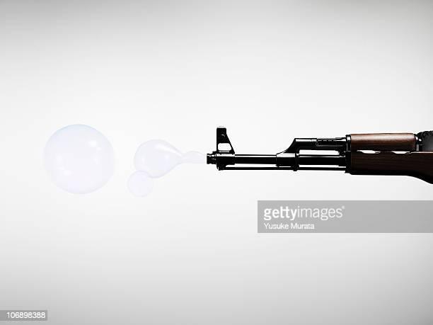 Shoot a gun