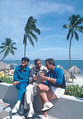 SPECIAL 'NFL SUPERSTARS' Shoot date Don Meredith Howard Cosell and Frank Gifford DON
