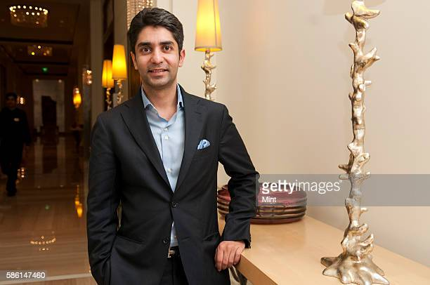Shooter Abhinav Bindra poses for a profile shoot at the launch of his book a shot at history on October 31 2011 in Bangalore India