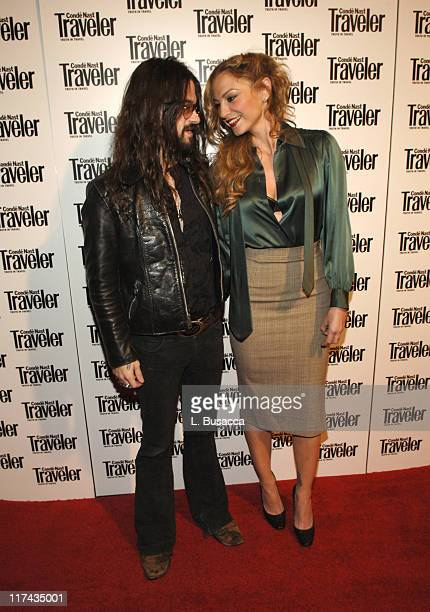 Shooter Jennings and Drea de Matteo during Conde Nast Traveler 19th Annual Readers' Choice Awards Inside Arrivals at American Museum of Natural...