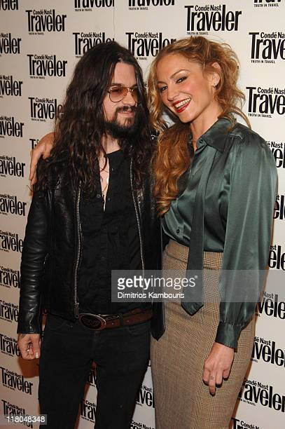 Shooter Jennings and Drea de Matteo during Conde Nast Traveler 19th Annual Readers' Choice Awards at American Museum of Natural History in New York...