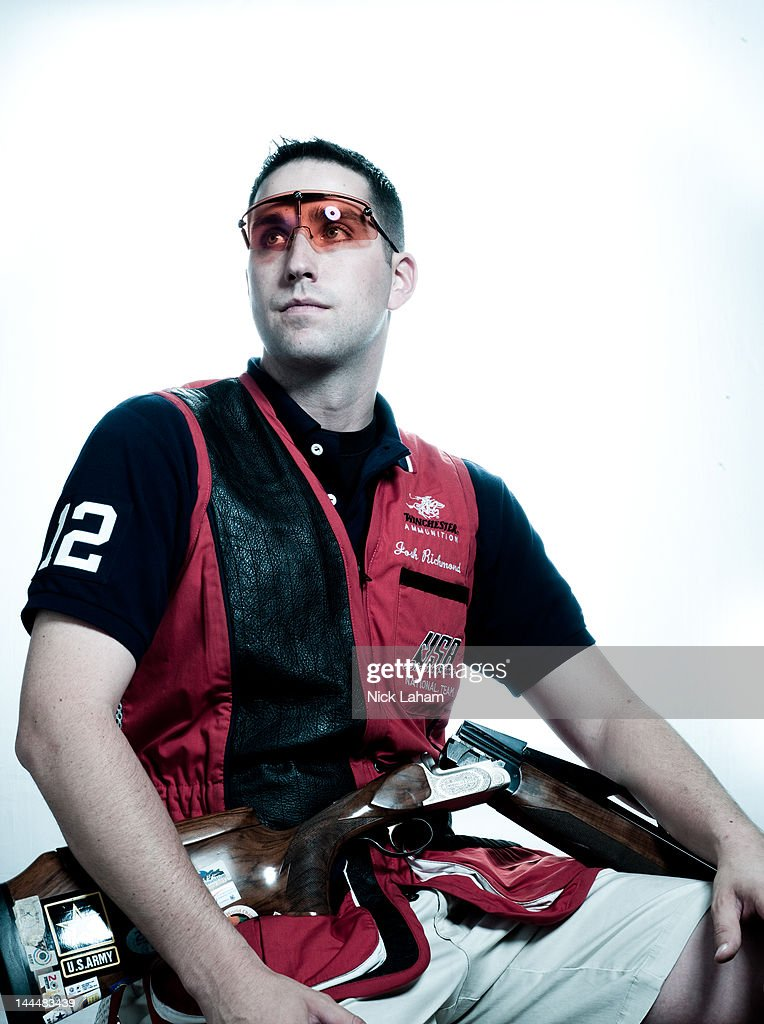 Shooter, Joshua Richmond, poses for a portrait during the 2012 Team USA Media Summit on May 14, 2012 in Dallas, Texas.